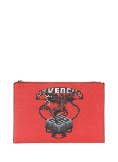Givenchy Clutch / El Çantası Kiremit